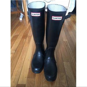 Black Hunter Rain-boots Tall